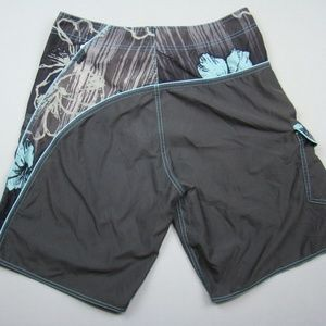 Crazy Shirt Swim - Crazy Shirt brand Board Shorts Hawaiian Aloha 33
